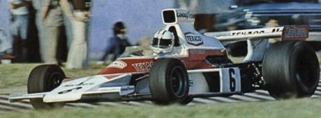 Denny Hulme, McLaren M23, Buenos Aires 1974