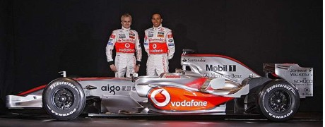 McLaren MP4-23 launch