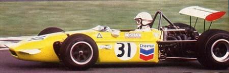 Xavier Perrot, March 702, Nürburgring GP 1970