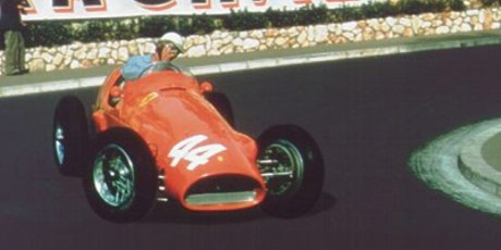 Maurice Trintignant, Ferrari 625, 1955 Monaco GP