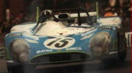 Graham Hill, Matra MS670, Le Mans 1972