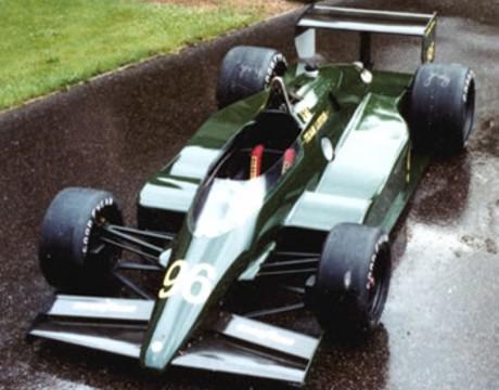 Lotus 96T-Cosworth DFX, 1984