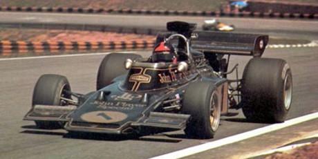 Emerson Fittipaldi, JPS-Lotus 72D, Interlagos 1973