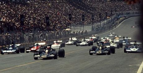 Start 1973 Brazilian GP, Interlagos