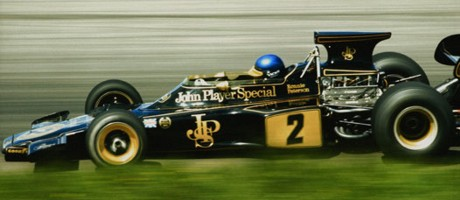 Ronnie Peterson, JPS-Lotus 72D, Interlagos 1973