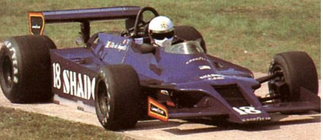 Elio de Angelis, Shadow DN9B, 1979 British GP