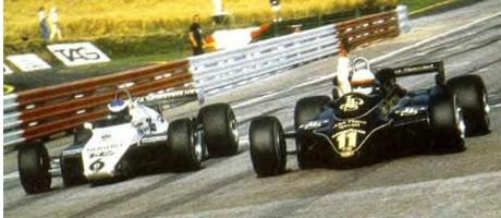 Keke Rosberg & Elio de Angelis, 1982 Austrian GP