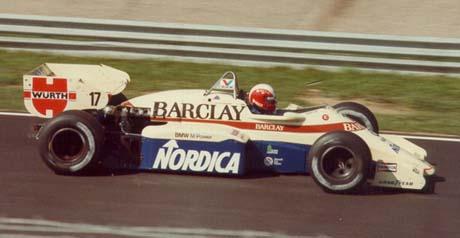 Marc Surer, Arrows-BMW