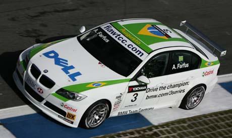Augusto Farfus, BMW 320si