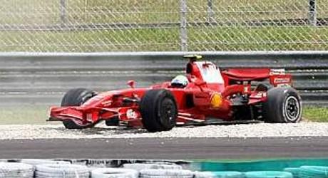 Felipe Massa, Ferrari F2008, GP Malaysia
