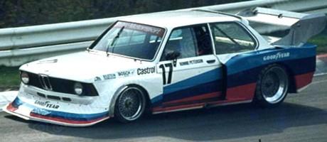 Ronnie Peterson, BMW 320i 2.0 Turbo