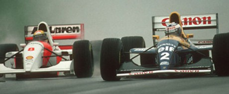 Temporada de Formula 1 de 1993, Senna vs Prost 1993 - by gpinsider.wordpress.com