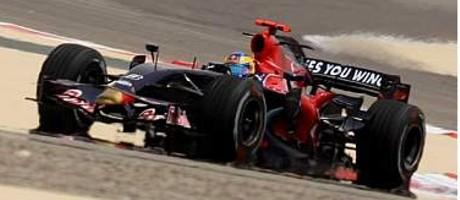 Sebastien Bourdais, Toro Rosso STR3, 2008 Bahrain GP