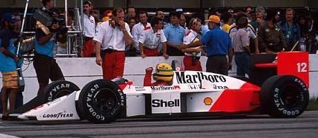 Ayrton Senna, 1988 Brazilian GP