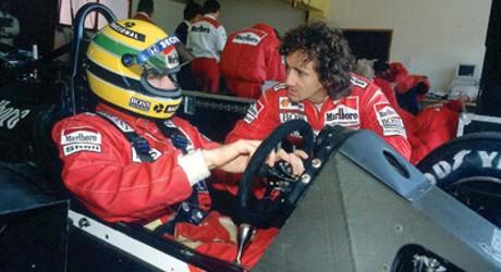 Ayrton Senna & Alain Prost, 1988