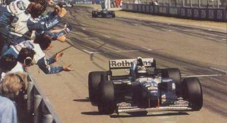 Damon Hil, Williams FW17B, Adelaide 1995