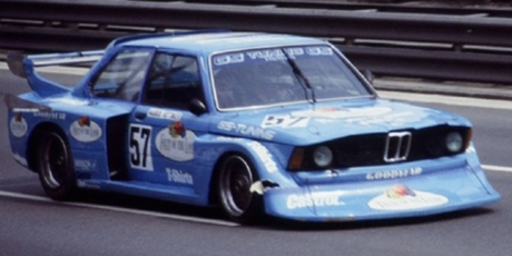 Markus Höttinger, BMW 320 Turbo, Avus 1978