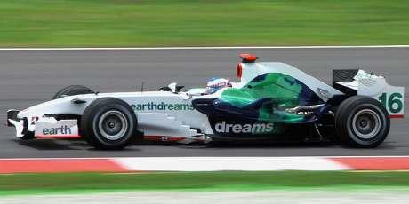 Jenson Button, Honda, 2008