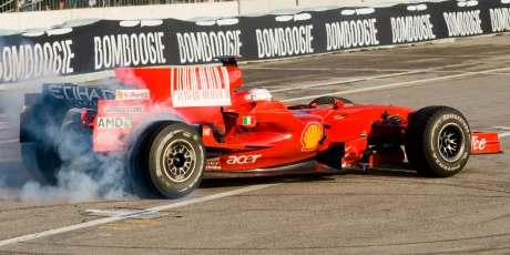Luca Badoer, Ferrari F2008, Bologna 2008