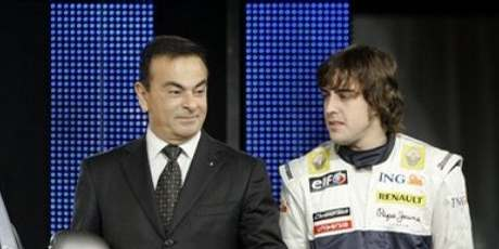 Carlos Ghosn & Fernando Alonso