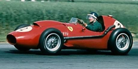 Mike Hawthorn, Ferrari Dino 246, Silverstone 1958