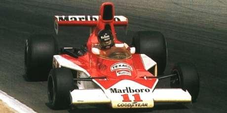 James Hunt, McLaren M23, 1976
