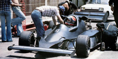 Jean-Pierre Jabouille, first Renault F1 turbo test, Ladoux 1976