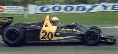 Jody Scheckter, Wolf WR1, Argentina 1977