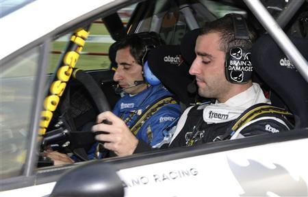 Brian Lavio and co-driver Flavio Guglielmini