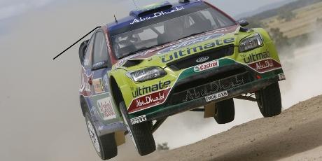Latvala, Ford Focus, Rally Australia