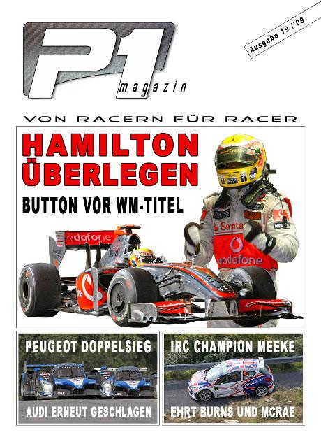 P1 Titelseite Ausgabe 19 - wp
