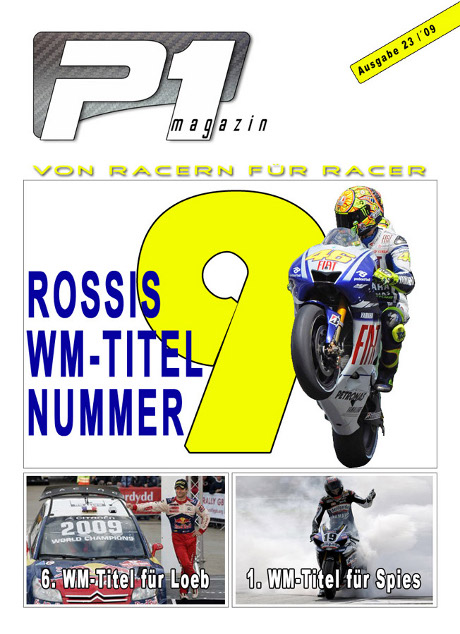 P1 Titelseite Ausgabe 23 - wp