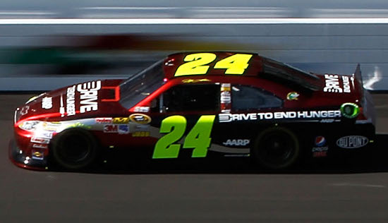 jeff gordon phoenix win. Jeff Gordon back on victory