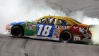 11NSC_Kyle_Busch_Burnout_Kentucky