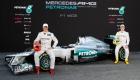 12F1 W03 Launch - Michael Schumacher & Nico Rosberg